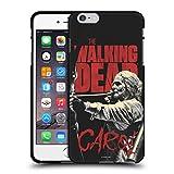 Head Case Designs Licenciado Oficialmente AMC The Walking Dead Carol Retratos de Personajes de la Temporada Funda de Gel Negro Compatible con Apple iPhone 6 Plus/iPhone 6s Plus