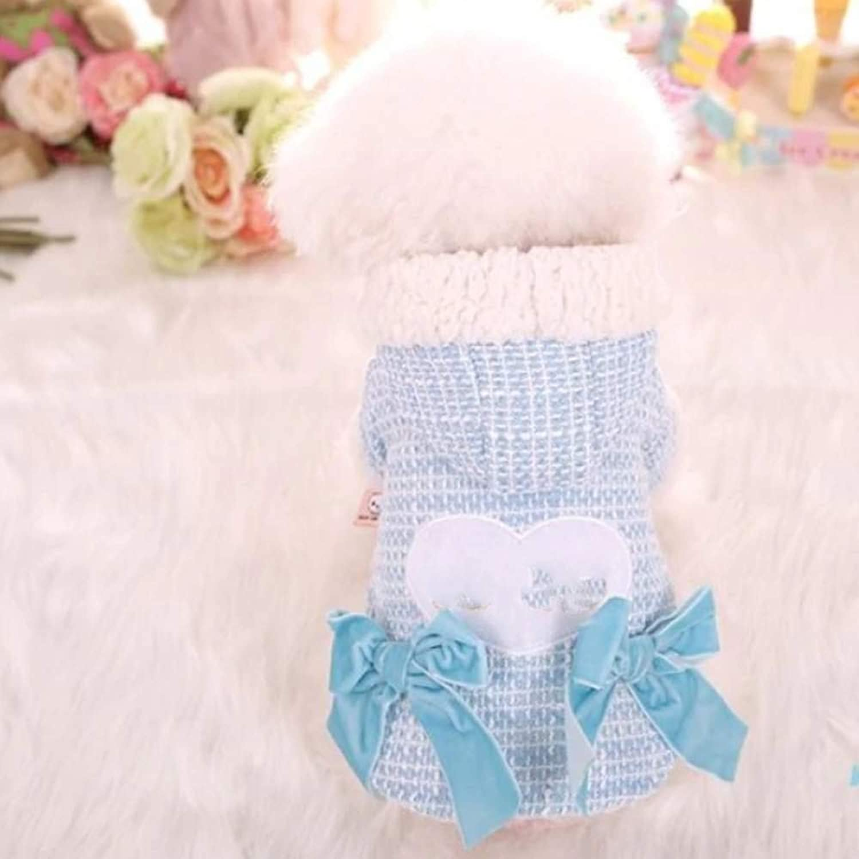 AITU Ropa Para Mascotas Winter Padded Pet Clothes Cute Coat Jacket