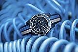 Volkswagen VW Motorsport WRC Original Chronograph Uhr Armbanduhr mit Stoppfunktion 46 mm