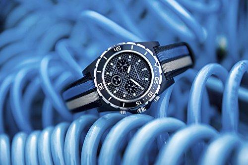 Volkswagen Original VW Motorsport WRC Chronograph Uhr Armbanduhr mit Stoppfunktion 46 mm