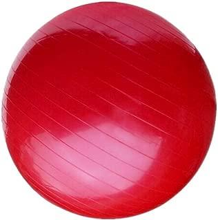 AINAAN Premium Extra Thick Yoga Ball, Anti-Burst-Slip Resistant55cm Size Fitness, 2019,  Red