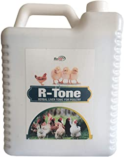 REFIT ANIMAL CARE - Liver Tonic for Poultry, Chicken and Birds (R-Tone 5 LTR.)