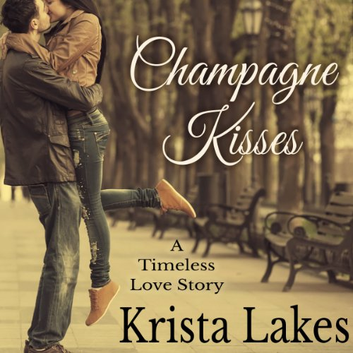 Champagne Kisses audiobook cover art