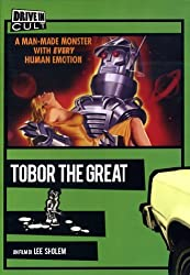 Tobor the Great (1954) is available on DVD (Region 0) from Amazon.co.uk