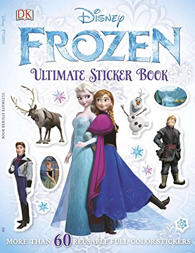 Product Image of the Ultimate Sticker Book: Frozen: More Than 60 Reusable Full-Color Stickers