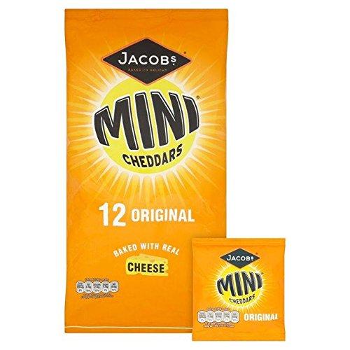 Mini-Fromages Cheddars 25G De Jacob X 12 par Paquet