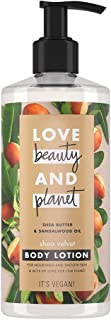 Love Beauty and Planet Lotion Shea Velvet Shea Butter & Sandalwood Oil, 400 ml