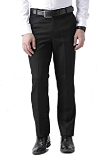 American-Elm Men's Slim Fit Formal Trouser