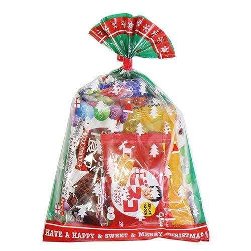 クリスマス袋 310円 グリコ栄養機能食品お菓子詰め合わせ 駄菓子 袋詰め おかしのマーチ