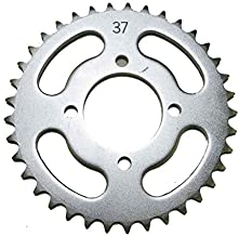 Kawasaki Steel Rear Sprocket 50 KFX 2003-2006/110 KLX 2002-2016/110 KLX-L 2010-2016 37 Teeth ATV/Motorcycle WSM RSS-001-37 OEM# 64511-01800, 64511-43F00, 64511-01739