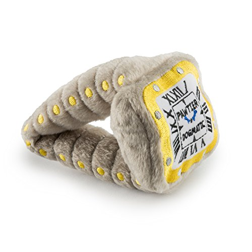 Haute Diggity Dog Pawtier Watch Plush Dog Toy with Squeaker by Haute Diggity Dog