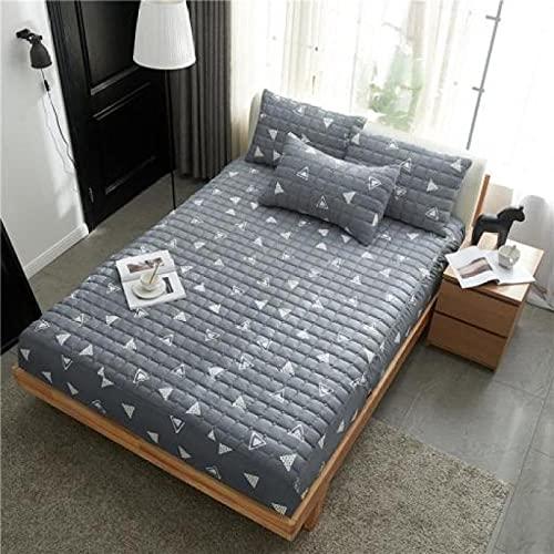 CYYyang Unterbett Soft-Matratzen-Topper, Matratzenschutz Boxspring-Betten geeignet Bettlaken rutschfeste Dicke Schutzhülle-23_120cmx200cm