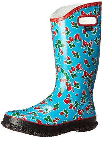 BOGS Women's Fruit Rain Boot Blue Size: 4 UK