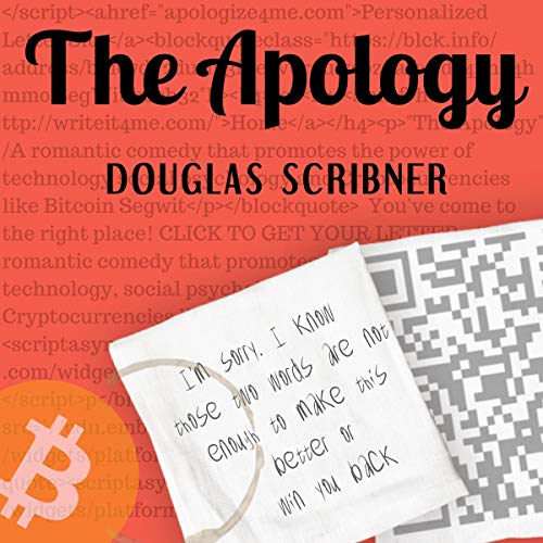 The Apology audiobook cover art