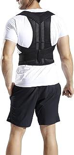 Corrector de Postura de Espalda para Hombre y Mujer Alivia Dolor en Cuello, Espalda y Hombros Mejora la Postura y Proporciona Soporte para la Espalda