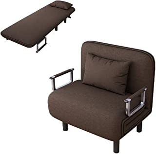 Alalaso Sofa Bed Folding Sleeper Bed Chair,Single Sleeper Convertible Chair Lounger Couch Recliner Bed (Ship from USA)