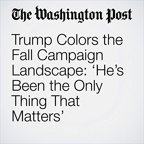 Trump Colors the Fall Campaign Landscape: 'He's Been the Only Thing That Matters' copertina