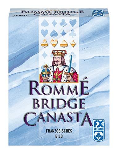 Ravensburger Kartenspiele 26957 Rommé, Canasta, Bridge 26957-Rommé