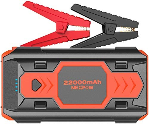 Battery Starter for Car NEXPOW 2500A 22000mAh Portable Car Jump Starter Q9B up to 8 0L Gas 8L product image