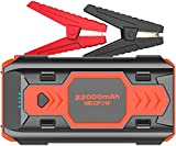 NEXPOW Battery Starter for Car, 2500A 22000mAh Portable Car Jump Starter Q9B (up to 8.0L Gas/8L Diesel Engines) 12V Auto Battery Booster Pack with USB Quick Charge 3.0, Type-C