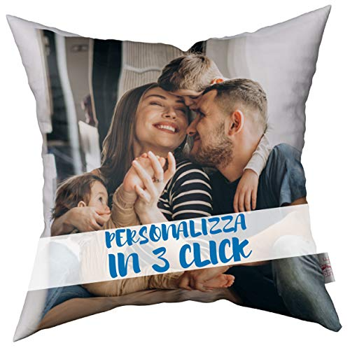 My Custom Style Cuscino 4040 Microfibra Personalizzato Online Fullprint F/Retro