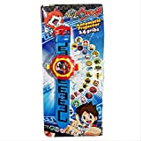 Pokemon Watch Monster Watch Projection 24 Pictures of Children's Toys Electronic Wrist Watch Show Time Glow Has Images.