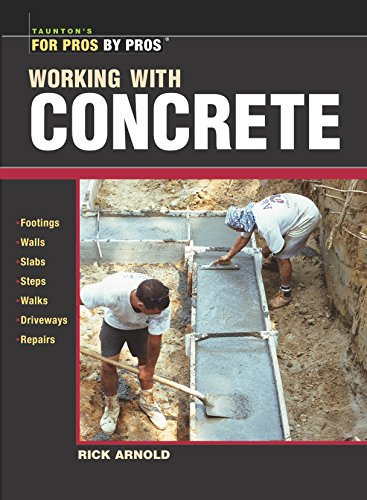 Working with Concrete (For Pros By Pros)