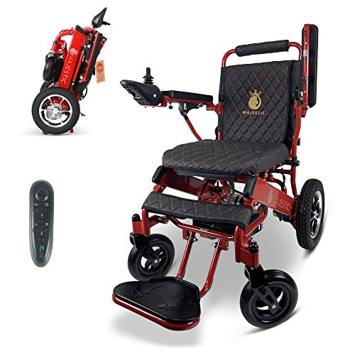 2020 New Remote Control Electric Wheelchairs Lightweight Foldable Motorize Power Electrics Wheel Chair Mobility Aid