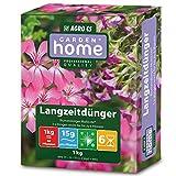 Garden Home Blumendünger | Langzeitdünger Multicote für alle Balkon- und Kübelpflanzen, Rosen, Stauden und Gehölze | 6 Monate Langzeitwirkung | für 10 m Balkonkästen
