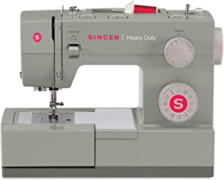 SINGER | Heavy Duty 4452 Sewing Machine with 110 Stitch Applications, Metal Frame, Built-In...