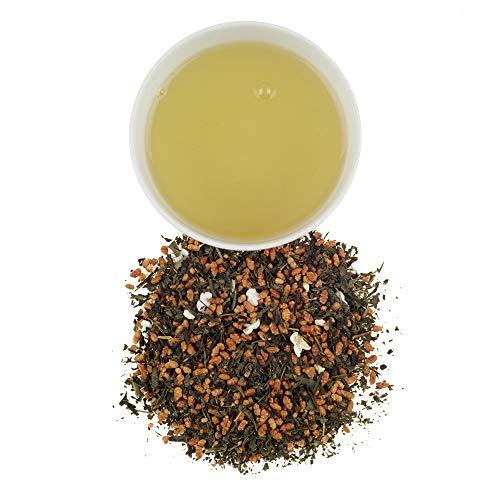 Harney & Sons Genmaicha Loose Leaf Green Tea, 8 Ounce tin, Japanese tea with brown rice kernals