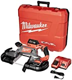 MILWAUKEE'S 2729-21 M18 Fuel Deep Cut Band Saw 1 Bat Kit