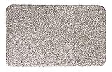 andiamo Fußmatte Samson Türmatte Sauberlaufmatte für Innen- und überdachter Außenbereich waschbar mit rutschfester Unterseite 50 x 80 cm beige