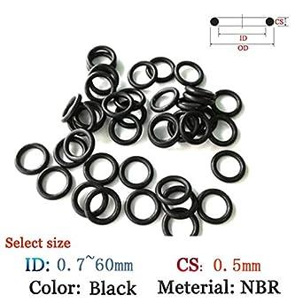Metric Buna-N Sealing Gasket Pack of 20 Othmro Nitrile Rubber O-Rings 20mm OD 15.2mm ID 2.4mm Width