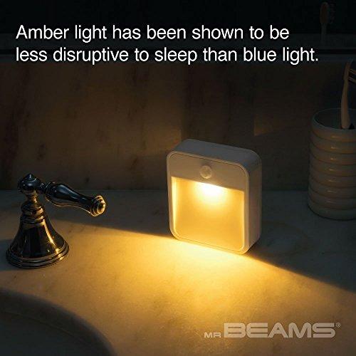 Product Image 4: Mr. Beams Sleep Friendly Battery-Powered Motion-Sensing LED Stick-Anywhere Nightlight