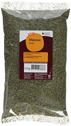 tegut... Majoran gerebelt Gewürz, 1er Pack (1 x 100 g)