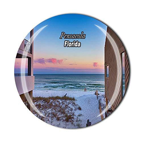 Imán 3D de Pensacola Florida USA para nevera, recuerdo de viaje, colección de regalo, decoración para el hogar y la cocina