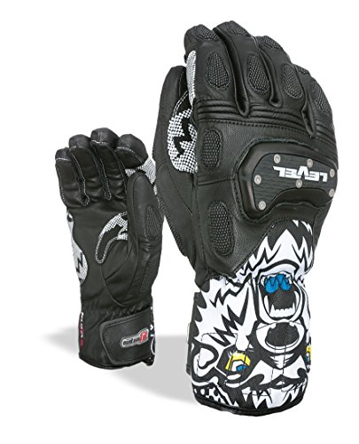 Level Herren SQ CF Handschuhe, Black, 10