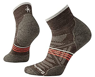 Smartwool Wool Performance Ankle Socks - Women's PhD Outdoor Light Mini Medium TAUPE