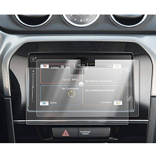 [2 Stück] SKTU für S*uzuki Vitara 2015-2020 Navigation schutzfolie 7 Zoll GPS Navigation PET Schutzfolie Transparente Bildschirmschutzfolie