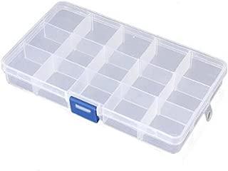 Transparente Plastico Caja de Almacenaje Organizador de