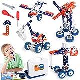 Building Toys Kits 152 Piece STEM Toys Erector Set for Boys...