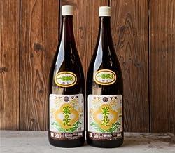 【ギフトにも最適】コヤマダ(小山田産業)の菜種(なたね)油 一升瓶2本詰め合わせ(箱入) 完全無添加・無農薬、100%国産菜種。