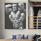 Britische Top Bodybuilder Mr. Olympia Poster Leinwand