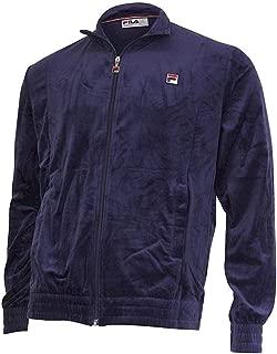 Fila Men's Kooper Zip Front Velour Track Jacket