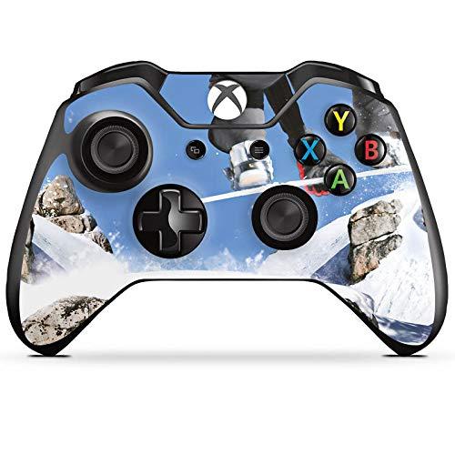 DeinDesign Skin kompatibel mit Microsoft Xbox One Controller Aufkleber Folie Sticker Snowboard Sprung Wintersport