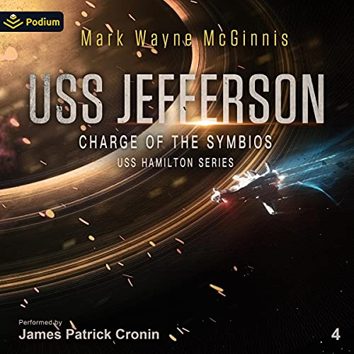 USS Jefferson: Charge of the Symbios Audiobook By Mark Wayne McGinnis cover art
