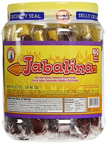 Jabalina Hot and Salted Tamrind Flavor Candy