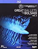 Great Ballets from the Bolshoi, Vol. 2: La Bayadere, Marco Spada, Swan Lake, The Golden Age (4 Blu-Ray)