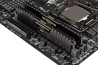 Corsair CMK16GX4M2K4133C19 VENGEANCE LPX 16GB (2x8GB) DDR4 4133 (PC4-33000) C19 PC Memory Black